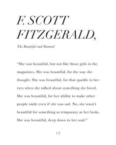 """The Beautiful & Damned"" by F. Scott Fitzgerald"