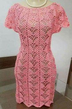 Best 12 Crochet Pattern only with written instruction For Top Black Crochet Dress, Crochet Skirts, Crochet Tunic, Crochet Clothes, Crochet Lace, Crochet Wedding Dresses, Crochet Woman, Crochet Fashion, Beautiful Crochet