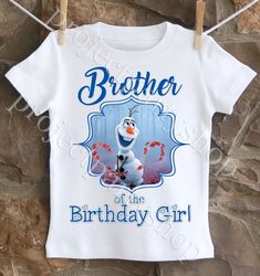 Frozen 2 Brother Olaf Shirt | Frozen 2 Birthday Party Ideas | Twistin Twirlin Tutus  #frozen2 #frozen2birthday #twistintwirlintutus  www.TwistinTwirlinTutus.com