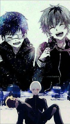 Tokyo ghoul Ken Kaneki and Hide wallpaper 💔 Manga Anime, Art Manga, Anime Art, Manga Tokyo Ghoul, Ken Kaneki Tokyo Ghoul, Hide Tokyo Ghoul, Dark Anime, Top Anime Series, Tokyo Ghoul Quotes