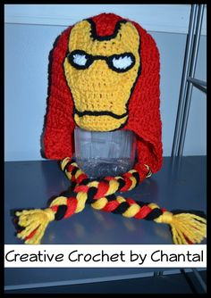 Free Crochet Pattern Iron Man Hat : 1000+ images about crochet ironman on Pinterest Iron man ...