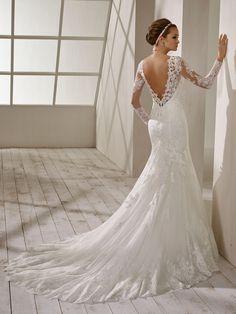 83a8ed7817e5 Le migliori 10 immagini di Abito da sposa sirena