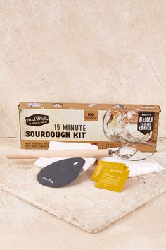 HANDPICKED GIFTS - 15 Minute Sour Dough Kit