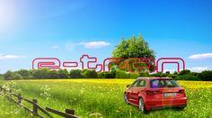 Audi A3 Etron Poster - 'Summer'