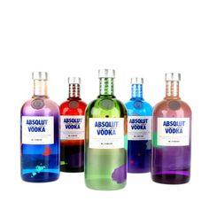 """ABSOLUT """"Unique Edition"""" Vodka"""