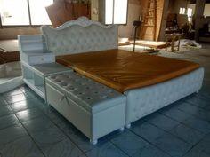 Хранения османской алмаз хохлатая современный натуральная кожа кровать современная мебель для спальни сделано в Китае