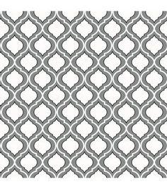 WallPops®️️ NuWallpaper™️ Quatrefoil Peel and Stick Wallpaper