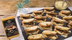 MasterChef Canada - Smoked Cheddar and Caramelized Onion Grilled Cheese Canapes