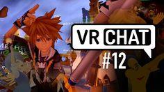 Saw a polished Kingdom Hearts Sora avatar in VRChat