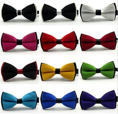 New 2016 Bow tie Fashion male bow ties for men married the groom color block decoration butterfly block color bow cravat bowknot♦️ SMS - F A S H I O N 💢👉🏿 http://www.sms.hr/products/new-2016-bow-tie-fashion-male-bow-ties-for-men-married-the-groom-color-block-decoration-butterfly-block-color-bow-cravat-bowknot/ US $0.81