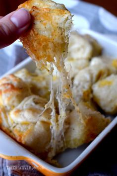 Cheesy Garlic Bread Bites. Dip in ranch or marinara!