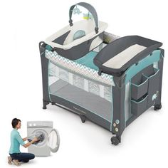 Ingenuity Smart and Simple Playard with Dream Centre, Avondale