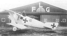 A Roland C.II close to the hangar.