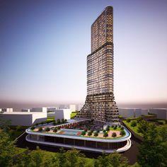 Nurem inşaat yüksek yapı konut projesi davetli mimari proje yarışmasında projemiz 1. ödüle layık görüldü. #nureminşaat #tamtürkmimarlık #mimarlık #rezidans #kule #yüksekyapı #izmir #karabağlar #yeşilyurt #tower #residence #architecture