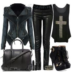 Don't necessarily like the same style but the all black everything really catches my eye