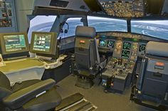 Airbus 319 / 320 Full Flight Simulator Cockpit by a.penny