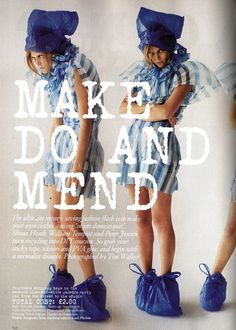 British Vogue - Make Do and Mend