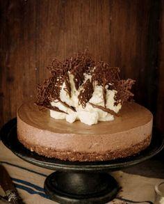 Pişirilmeden Hazırlanan Çikolatalı Cheesecake