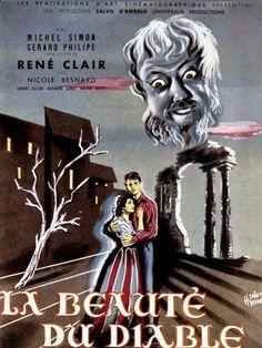"""Gérard Philipe - """"La Beauté du Diable"""" (1949) - René Clair (1949) - Poster"""