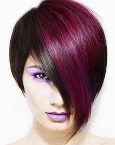 Red hair highlight