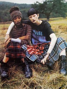 90's grunge - famous picture from Vogue