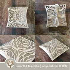 Product Laser cut wedding gift box template. @ shop-msl.com Wedding Gift Boxes, Wedding Gifts, Paper Box Template, Laser Cutting, Wedding Designs, Projects To Try, Craft Ideas, Diy Crafts, Templates