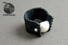 DIY pearl ring tutorial