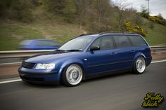 Slammed VW Passat Wagon   Passat5