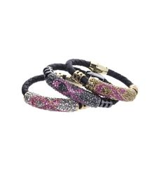 Butler & Wilson Breast Cancer Care Pink Ribbon Crystal Bracelet
