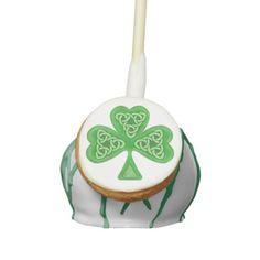 Enjoy Zazzle's amazing Irish cake pops. Irish Cake, St Patricks Day Cakes, Cake Pops, Knots, Saints, Christmas Ornaments, Holiday Decor, Cakepops, Knot