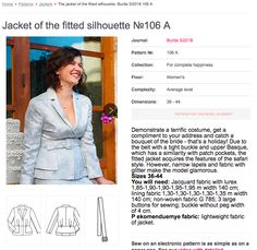 Sew Your Kibbe: Soft Gamine – Doctor T Designs Soft Gamine, Jacket Pattern, Compliments, Costumes, Sewing, Coat, Model, Jackets, Collection
