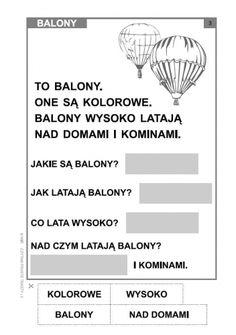 Polish Language, Speech Pathology, Exercise For Kids, Speech And Language, Kids Education, Pre School, Literacy, Free Printables, Homeschool