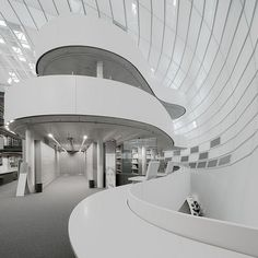 Philological Library of the Free University of Berlin Norman Foster Photographed by Timo Schäfer