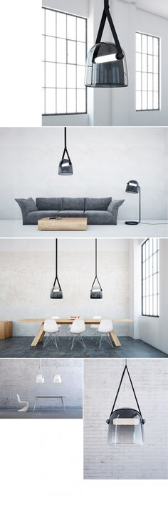 Kolekcja Lamp MONA Brokis. Projekt: Lucie Koldova. #lampy #oswietlenie #stacjadesign