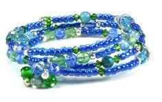 Jewelry Making Idea: Crusoe Memory Wire Bracelet
