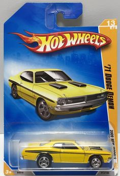 We always have the hottest Vintage Toys at The Angry Spider.  Now available: (TAS037026)  - Ma...  Check it out here: http://theangryspider.com/products/tas037026-mattel-hot-wheels-die-cast-car-71-dodge-demon-2009?utm_campaign=social_autopilot&utm_source=pin&utm_medium=pin