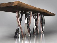 Table en bois massif IL PEZZO 8 | Table - Il Pezzo Mancante