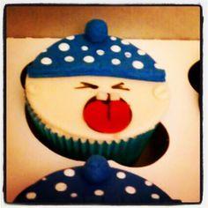 Lemon gluten free boy baby shower cupcakes