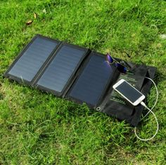 Or get a solar-powered charging station, so you don't even have to worry about charging the stove before you go.