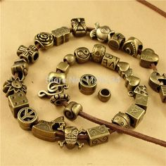 Cheap beaded medical alert bracelets, Buy Quality bead headband directly from China beaded kaftan Suppliers: Mixed Zinc Alloy Beads Antique Bronze BeadFit Jewelry Making
