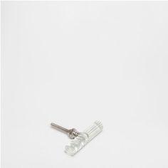 BOUTON DE MEUBLE TUBULAIRE TRANSPARENT (LOT DE 2) - Boutons Meuble - Décoration | Zara Home France