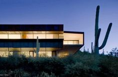 Awesomely Austere Tucson Mansion, Designed by Rick Joy