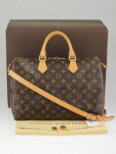 Louis Vuitton Monogram Canvas Speedy Bandouliere 35 Bag Summer Bags 439d565f91f5c