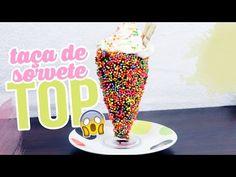 Taça de Sorvete TOP - Brincando de Ana Maria