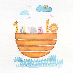 ilustración para un santo de bautizo   agosto 2014
