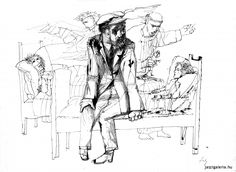 Los Hermanos Karamazov, Drawing Sketches, Drawings, Gallery, Illustration, Painting, Hungary, Artists, Dibujo