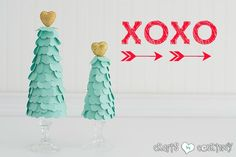 Valentine Heart Trees: Valentine Home Decor Ideas