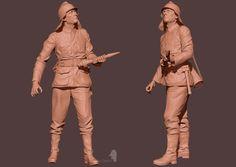 CGTalk - German Fireman_WW2, Dmitry Danilov (3D)
