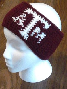 Ravelry: Texas A&M Ear Warmers pattern by Price Crochet Creations