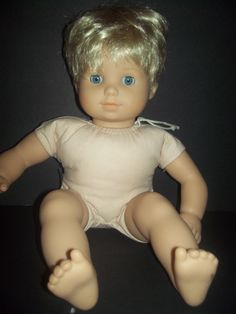 American Girl Bitty Twin Blonde blue eyes shiny hair slight TLC #Dolls